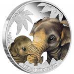50 cents 2014 Australien - Die Liebe der Mutter - Elefant