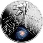 1$ 2015 Niue Island - Die schönsten Galaxien Serie - SPIRALA GALAXY (NGC 1232)