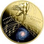 50 cents 2015 Niue Island - Die schönsten Galaxien Serie - SPIRALA GALAXY (NGC 1232)