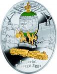 1 $ 2015 Niue Island - Imperial Faberge Eier - Trans - Siberian Railway Egg