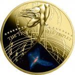 50 cents 2015 Niue Island - Die schönsten Galaxien Serie - THE TINKER BELL TRIPLET