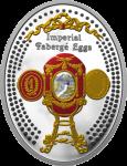 1 $ 2015 Niue Island - Imperial Faberge Eier - Caucasus  Egg