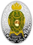 1 $ 2015 Niue Island - Imperial Faberge Eier - Alexander Palace Egg