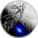 1$ 2015 Niue Island - Die schönsten Galaxien Serie - ACTIVE GALAXY (NGC 4945)