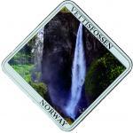 1$ 2015 Niue Island - Vettisfossen Wasserfäll