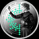 500 Francs 2017 Kamerun - 150. Geburtstag Jubiläum vom Maria Sklodowska - Curie