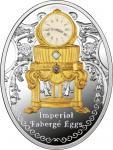 1 $ 2015 Niue Island - Imperial Faberge Eier - Dritte Imperial Ei