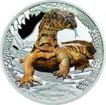 1 $ 2016 Tuvalu - Australiens Reptilien - Goanna (Waran)