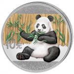 10 Yuan 2017 China - Panda in Kolor