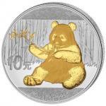 10 Yuan 2017 China - Panda in Gold