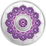 5$ 2018 Kanada - Geburtsstein Februar - mit Swarovski® Kristall