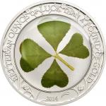 5 $ 2014 Palau - Vierblättriges Kleeblatt / Ounce of Luck