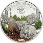 2$ 2014 Cook Islands - World of Hunting - Wild Boar