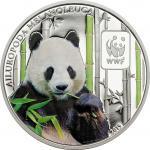 100 Francs 2015 Central African Republic - WWF - World Wildlife Fund - Giant Panda
