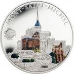 5 $ 2016 Palau - Wunder der Welt - Mont-Saint-Michel