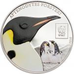 100 Schillings 2016 Tanzania - WWF - World Wildlife Fund - Emperor Penguin