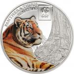 100 Schillings 2016 Tanzania - WWF - World Wildlife Fund - Sumatran Tiger