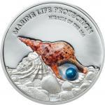 5 $ 2016 Palau - Marine Life Protection - Miracle of the Sea - Blaue Perle