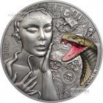 Vorverkauf! 10$ 2015 Palau - Mythische Kreaturen - Medusa im Etui