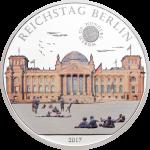 5 $ 2017 Palau - Wunder der Welt - Reichstag Berlin