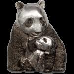 20 $ 2017 Cook Island - Silver Lucky Panda