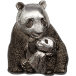 Vorverkauf! 20 $ 2017 Cook Island - Silver Lucky Panda