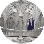 Vorverkauf! 50$ 2017 Palau - Tiffany Art - Wells Cathedral 1kg