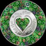 5 $ 2017 Cook Islands - Glass Art - Murrine Millefiori III