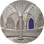 Vorverkauf! 10$ 2017 Palau - Tiffany Art - WELLS KATHEDRAL Dekoriert Lady Chapel Kapitel Haus