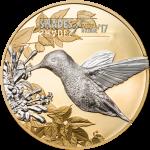 Vorverkauf! 5$ 2017 Cook Islands - Shades of Nature - Kolibri