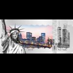 Vorverkauf! 1$ 2017 Cook Islands - Skyline Dollar - New York