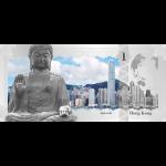 Vorverkauf! 1$ 2017 Cook Islands - Skyline Dollar - Hong Kong