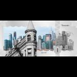 Vorverkauf! 1$ 2017 Cook Islands - Skyline Dollar - Toronto