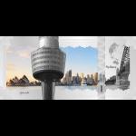 Vorverkauf! 1$ 2017 Cook Islands - Skyline Dollar - Sydney