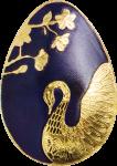 1$ Palau - Golden Swan Egg
