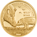 1000 Togrog 2018 Mongolia - Wildlife Protection - Wild Boar - Sus Scrofa  Au