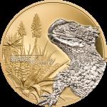 Pre-Sale! 5$ 2018 Cook Islands - Shades of Nature - Lizard