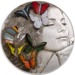 20 $ 2018 Palau - Exotic Butterflies Dream Edition