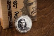 Vorverkauf! 1000 Togrog 2018 Mongolia - Che Guevara Ag koloriert