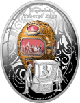 1$ 2018 Niue Island - Imperial Faberge Eggs III Edition - Catherine the Great Egg
