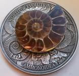 1000 Francs 2016 Burkina Faso - Welt der Evolution - Ammonoidea / Ammonite