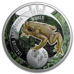 1$ 2016 Niue -  SOS to the World - Goldkröte