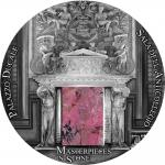 10$ 2016 Fiji - Masterpieces in Stone - PALAZZO DUCALE Doge Palacee 3 oZ