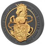 5 Pounds 2018 United Kingdom- Golden Enigma - Queen's Beast - Unicorn
