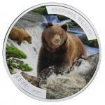 1$ 2015 Niue Island - Beautiful Wildlife - Bear