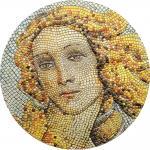 Pre-Sale! 20 $ 2017 Palau - Great Micromosaic Passion - Botticelli - Birth of Venus