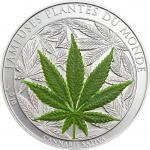 1000 Francs 2010 Benin - Duftmünze - Cannabis Sativa