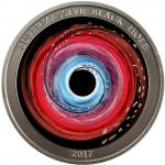 2$ 2017 Niue Island - SUPERMASSIVE BLACK HOLE