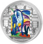 20 $ 2011 Cook Islands - Franz Marc - Blaues Pferd