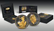 2£ 2017 United Kingdom - The Golden Enigma Premium Edition - 30 Years Britannia